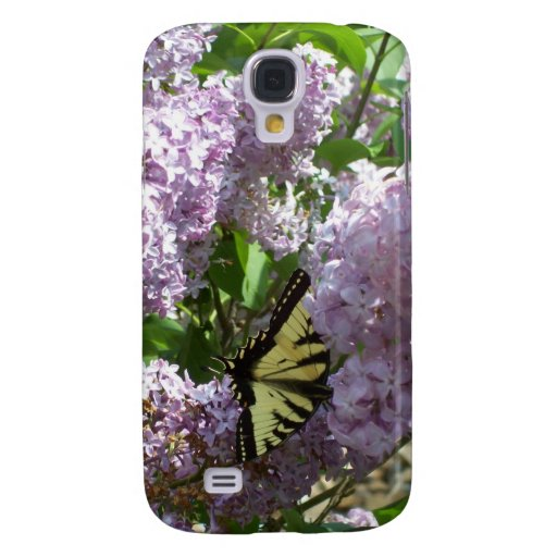 iphone3 Speck Case with Butterfly on Lilac design Galaxy S4 Case