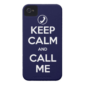 iPhone4/4S Choose Your Color Keep Calm and Call Me iPhone 4 Cases