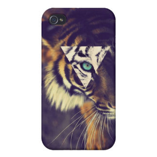 iPhone4 Hipster tiger Case