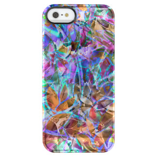 iPhone5/5s Battery Case Floral Stained Glass