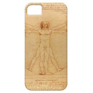 iPhone5 case Leonardo da Vinci Vitruvian Man human