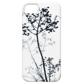 iPhone5 case mate black and white nature design