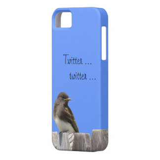 iPhone5 CM/BT - Flycatcher on fence Case For The iPhone 5