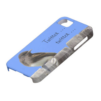 iPhone5 CM/BT- Flycatcher on fence (hrz) iPhone 5 Covers