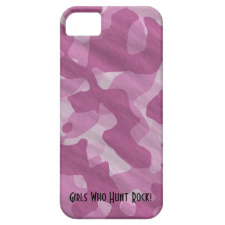 iPhone5 Girly Pink Camo Girls Rock iPhone 5 Covers
