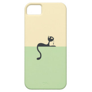 Iphone5 marries with cat art theme barely there iPhone 5 case