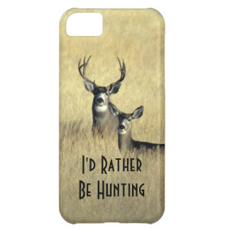iPhone5 Masculine White Tail Mule Deer Buck Doe iPhone 5C Case