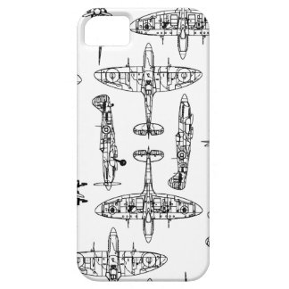 iphone5 Spitfire Military Airforce History Plane iPhone 5 Cover