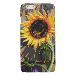 """iPhone6 Case """"Sunflower"""" by Camille Engel"""