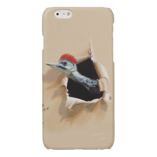 "iPhone6 Case ""Woodpecker"" by Camille Engel"
