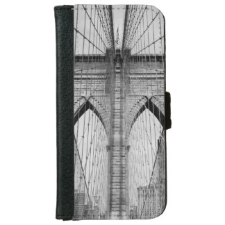 iPhone6 Wallet Case - Brooklyn Bridge, New York