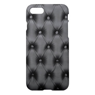 iPhone7 Case with black capitone, Chesterfild st.