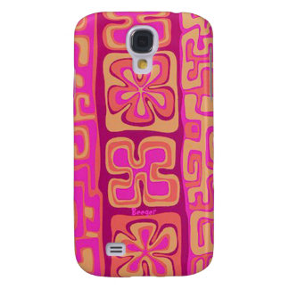 IPhone 3 Case - Pink Hawaiian Floral Design