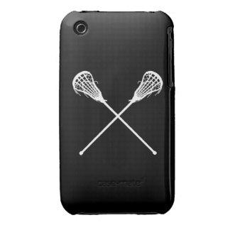 iPhone 3 Lacrosse Sticks Black iPhone 3 Case-Mate Case