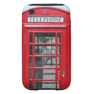 iPhone 3 Tough: Classic red telephone box photo iPhone 3 Tough Covers