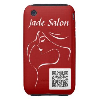 iPhone 3G/3Gs Case Template Jade Salon iPhone 3 Tough Case