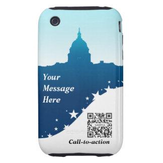 iPhone 3G/3Gs Case Template US Capital Building Tough iPhone 3 Cases
