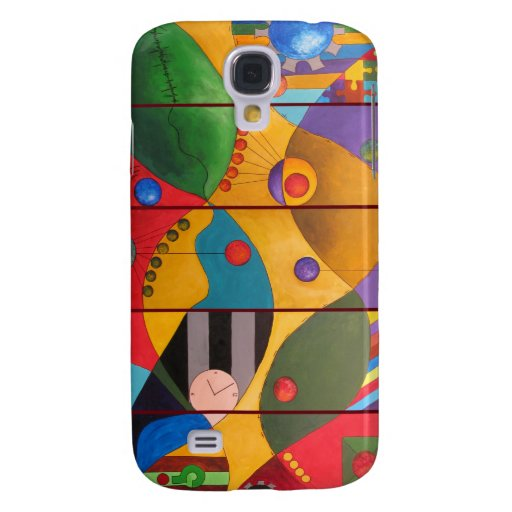 iPhone 3G case - Human Dynamics painting Galaxy S4 Covers