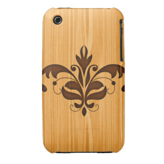 iPhone 3G Wood Grain Barely There Case Case-Mate iPhone 3 Case