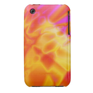 iPhone 4/4S – Colorful Fire Abstract  Yellow Red iPhone 3 Case-Mate Case