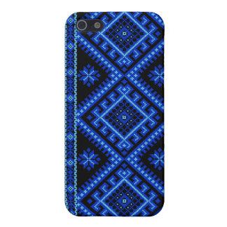 iPhone 4 / 4S Fabric Case Ukrainian Blue Cases For iPhone 5