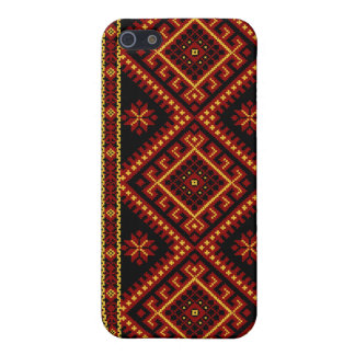 iPhone 4 / 4S Fabric Print Case Ukrainian Print Covers For iPhone 5