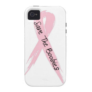 iPhone 4 4s Save The Boobies Brest Cancer Case Case For The iPhone 4