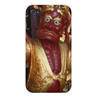 iPhone 4 Case: Asia Series, Singapore Temple Guar iPhone 4/4S Cover