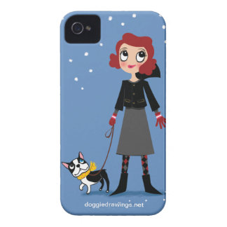 """iPhone 4 Case: Boogie Loves All-Mighty """"Baroness"""" iPhone 4 Cases"""