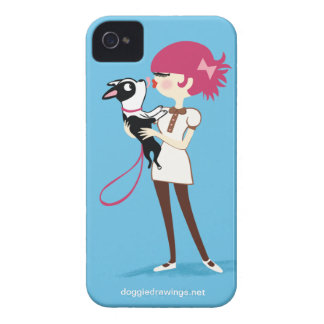 """iPhone 4 Case: Boogie Loves All-Mighty """"Boris"""" Case-Mate iPhone 4 Case"""