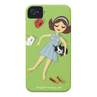 """iPhone 4 Case: Boogie Loves All-Mighty """"The Fanny"""" iPhone 4 Cases"""