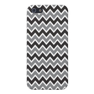 iPhone 4 Case Chevron Pattern (black)