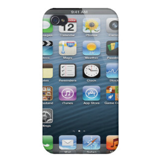 iPhone 4 case - iPhone screen on the back