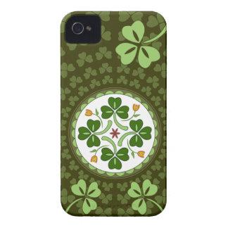 iPhone 4 Case - Irish Good Luck Hex