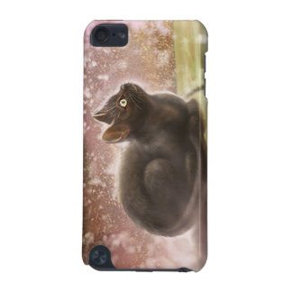 iPhone 4 case - Magic Black Cat