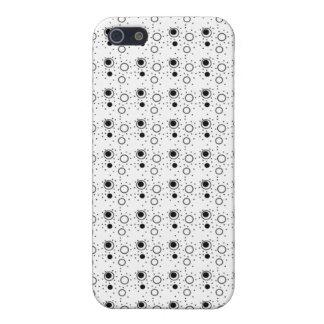 iPhone 4 Case Pattern Classic Black & White Dots