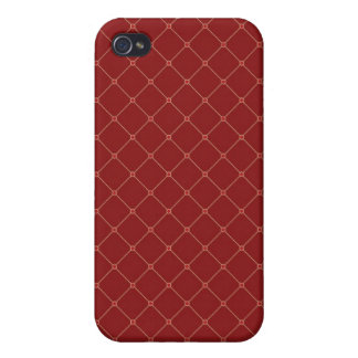 iPhone 4 Case Pattern Classic red checkered