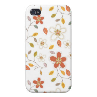 iPhone 4 Case Pattern Fall Floral