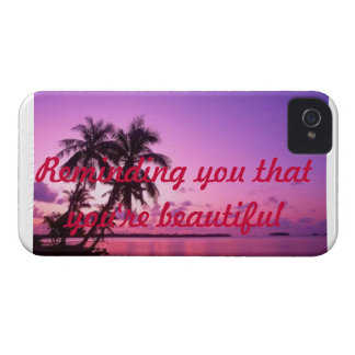 Iphone 4 case-reminding you that you're beautiful iPhone 4 covers