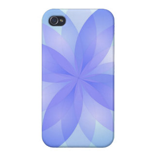 iPhone 4 Case Savvy abstract lotus flowers