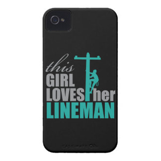 iPhone 4 Case This Girl Loves Her Lineman