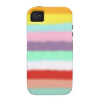 Iphone 4 case - United Colors Rainbow