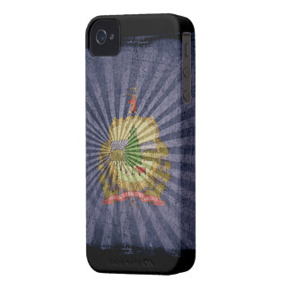 Iphone 4 Case with state flag of Vermont