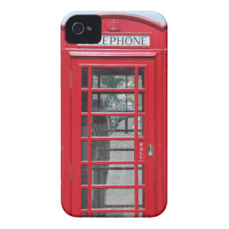 iPhone 4: Classic red telephone box photo iPhone 4 Covers