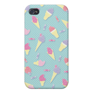 iphone 4 ice cream pattern case cases for iPhone 4
