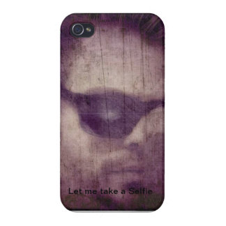 iPhone 4 Phone case with Selfie theme iPhone 4 Covers