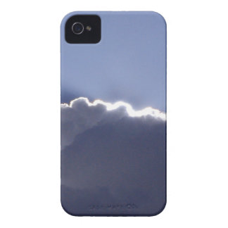 iPhone 4 skin with photo of cloud with silver lini iPhone 4 Case-Mate Case
