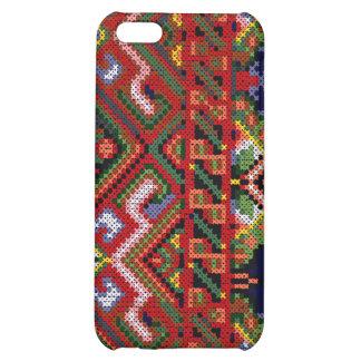 iPhone 4 Ukrainian Cross Stitch Print Hard Case iPhone 5C Cover