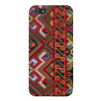 iPhone 4 Ukrainian Cross Stitch Print Hard Case Case For iPhone 5