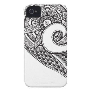 Iphone 4 Zentangle Ornament Case Case-Mate iPhone 4 Cases